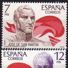 Sellos: ESPAÑA 1978 (2489-2490) AMERICA-ESPAÑA (NUEVO). Lote 262236740