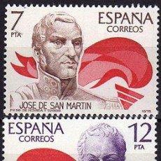 Sellos: ESPAÑA 1978 (2489-2490) AMERICA-ESPAÑA (NUEVO). Lote 262237325