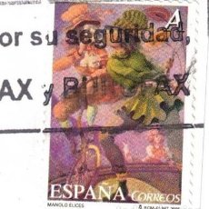Sellos: EDIFIL 4135 - ESPAÑA 2005 - MANOLO ÉLICES - EL CIRCO - USADO. Lote 262362955