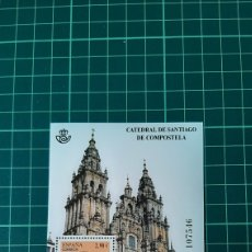Sellos: 2012 ESPAÑA HOJA BLOQUE EDIFIL 4727 CATEDRALES SANTIAGO COMPOSTELA APOSTOL SOLICITA HOJA NUEVA O USA. Lote 262402760