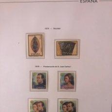 Sellos: ESPAÑA SELLOS AÑO COMPLETO 1975 NUEVOS. Lote 262424315