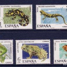 Sellos: SERIE NUEVA ** MNH DE ESPAÑA -FAUNA HISPÁNICA-, AÑO 1975. Lote 262434225