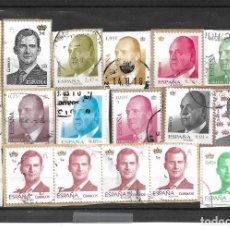 Sellos: LOTE NUMERO 24 CON SELLOS SIN LAVAR DE ESPAÑA SERIE BASICA DESTACAN FACIALES 5 EUROS (2), 2,47, 1,95. Lote 262462150