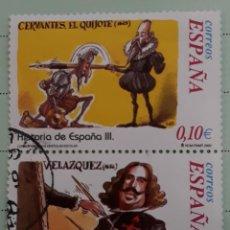 Sellos: DOS SELLOS HISTORIA DE ESPAÑA III. EDIFIL 3912-15. USADOS.. Lote 262686200