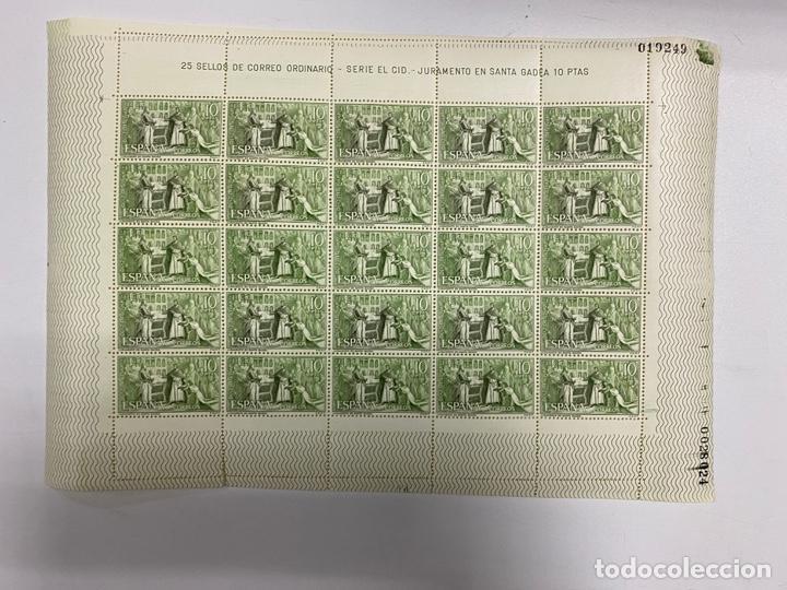 Sellos: ESPAÑA, 1962. EDIFIL 1444/47. RODRIGO DIAZ DE VIVAR EL CID. SERIE EL CID. NUEVOS. SIN FIJASELLOS. - Foto 8 - 262707320