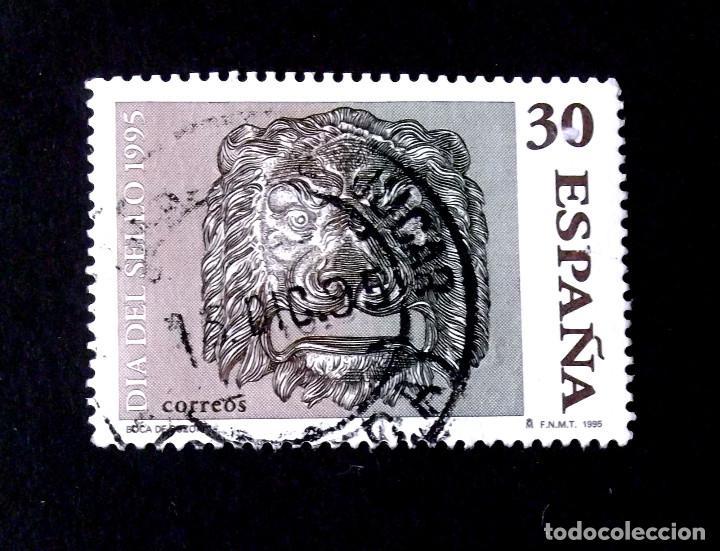 3346, SERIE EN USADO, FECHADOR VALVERDE DE JÚCAR (CUENCA). (Sellos - España - Juan Carlos I - Desde 1.986 a 1.999 - Usados)
