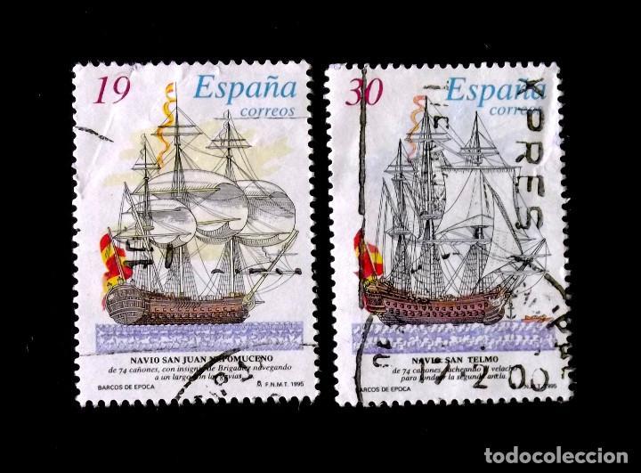 SH 3352-3, SERIE EN USADO. (Sellos - España - Juan Carlos I - Desde 1.986 a 1.999 - Usados)