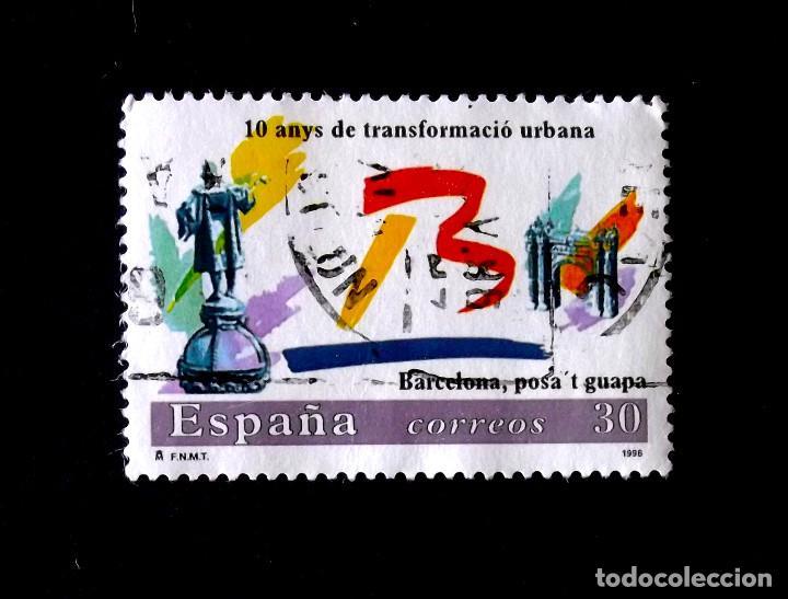 3411, SERIE EN USADO. (Sellos - España - Juan Carlos I - Desde 1.986 a 1.999 - Usados)
