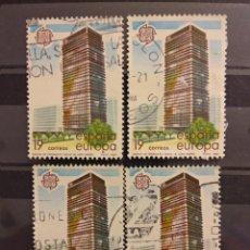 Sellos: AÑO 1987 EUROPA ARTES MODERNAS ARQUITECTURA SELLOS USADOS EDIFIL 2904. Lote 262974565