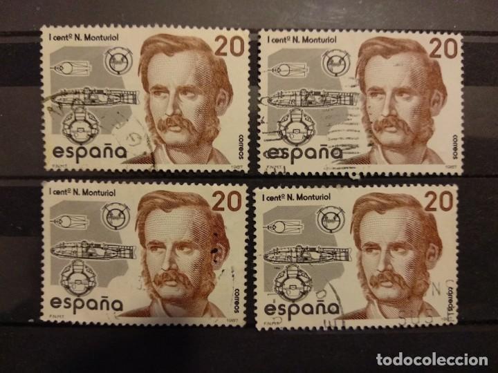 AÑO 1987 CENTENARIOS SELLOS USADOS EDIFIL 2881 (Sellos - España - Juan Carlos I - Desde 1.986 a 1.999 - Usados)