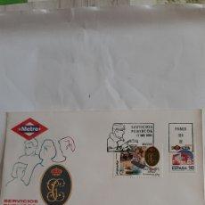 Sellos: 1994 ESPAÑA EDIFIL 3322/3 SFC 876 SERVICIOS PÚBLICOS METRO/GUARDIA CIVIL HELICÓPTERO MILITAR. Lote 263062070