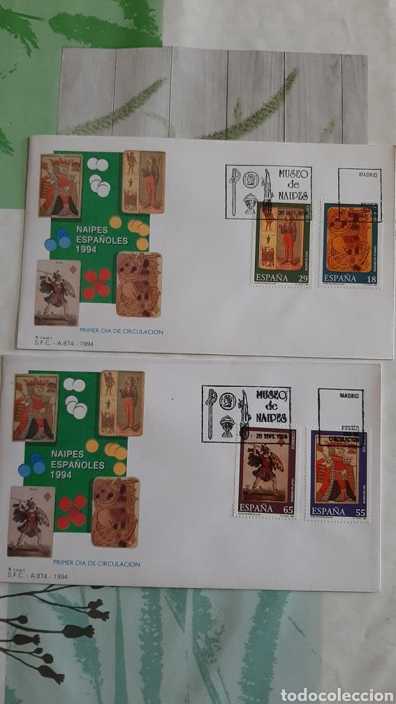 JUEGO MUSEO CARTAS NAIPES BARAJA EDIFIL 3317/0 SFC 874 USADOS 1994 ESPAÑA FILATELIA COLISEVM (Sellos - España - Juan Carlos I - Desde 1.986 a 1.999 - Usados)