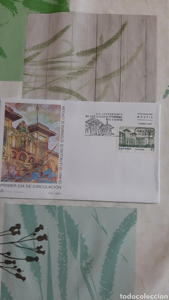 1997 ESPAÑA EDIFIL 3518 SFC 32 MATASELLO FACULTAD VETERINARIA CÓRDOBA MATASELLO FAUNA MEDICINA (Sellos - España - Juan Carlos I - Desde 1.986 a 1.999 - Usados)