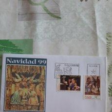 Sellos: 1999 ESPAÑA NAVIDAD EDIFIL 3685/6 SFC 30 MATASELLO USADOS FILATELIA COLISEVM COLECCIONISMO. Lote 263107815