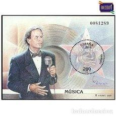 Sellos: ESPAÑA 2000. EDIFIL 3757. MUSICA. JULIO IGLESIAS. NUEVO** MNH. Lote 263116850