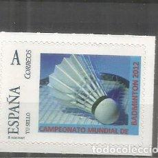 Sellos: ESPAÑA TUSELLO CAMPEONATO MUNDIAL BADMINTON WORLD CHAMPIONSHIP. Lote 263120430