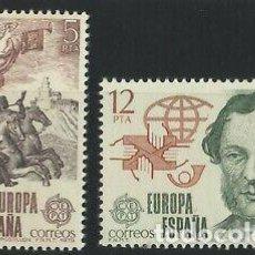Sellos: ESPAÑA 1979 (2520-2521) EUROPA (NUEVO). Lote 263146060