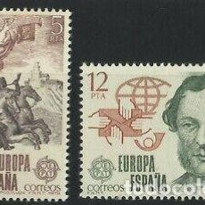 Sellos: ESPAÑA 1979 (2520-2521) EUROPA (NUEVO). Lote 263146990
