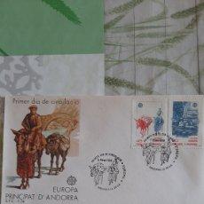 Sellos: 1988 ESPAÑA EDIFIL 204/5 MATASELLO SFC 74 USADO EUROPA EUROPA ETNOGRAFÍA. Lote 263239445