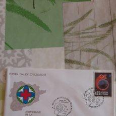 Sellos: 1989 MEDICINA CRUZ ROJA ROJA ANDORRA ESPAÑOLA EDIFIL 216 SFC 81 MATASELLO USADO FILATELIA COLISEVM. Lote 263242935
