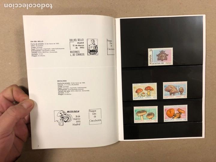 Sellos: EMISIONES DE SELLOS CORREOS Y TELÉGRAFOS ESPAÑA ANDORRA 1993. COMPLETO. - Foto 4 - 263577790