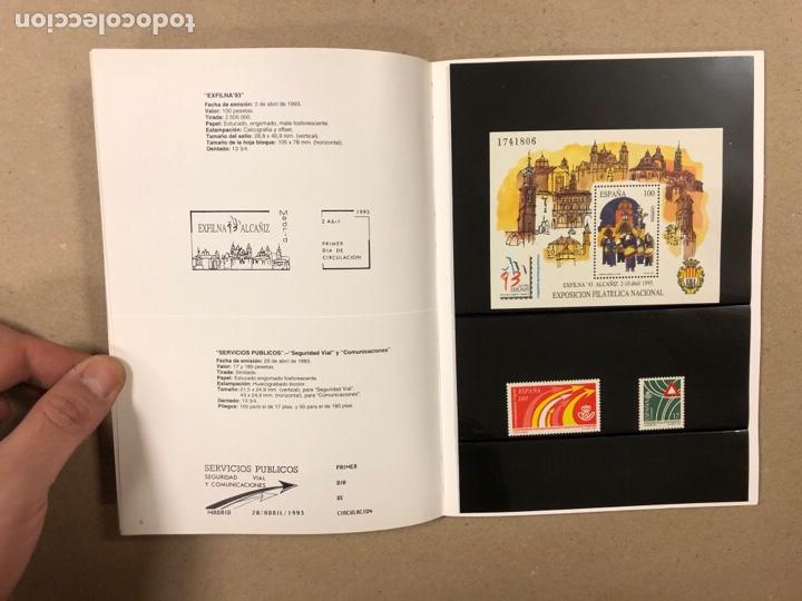 Sellos: EMISIONES DE SELLOS CORREOS Y TELÉGRAFOS ESPAÑA ANDORRA 1993. COMPLETO. - Foto 5 - 263577790