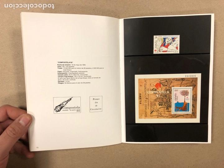 Sellos: EMISIONES DE SELLOS CORREOS Y TELÉGRAFOS ESPAÑA ANDORRA 1993. COMPLETO. - Foto 7 - 263577790