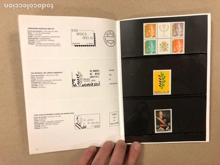 Sellos: EMISIONES DE SELLOS CORREOS Y TELÉGRAFOS ESPAÑA ANDORRA 1993. COMPLETO. - Foto 8 - 263577790