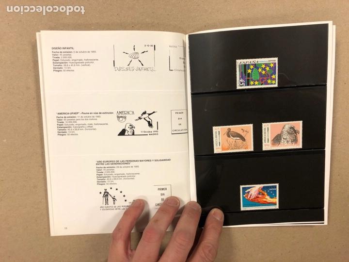 Sellos: EMISIONES DE SELLOS CORREOS Y TELÉGRAFOS ESPAÑA ANDORRA 1993. COMPLETO. - Foto 10 - 263577790