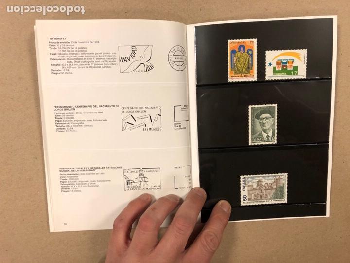 Sellos: EMISIONES DE SELLOS CORREOS Y TELÉGRAFOS ESPAÑA ANDORRA 1993. COMPLETO. - Foto 11 - 263577790
