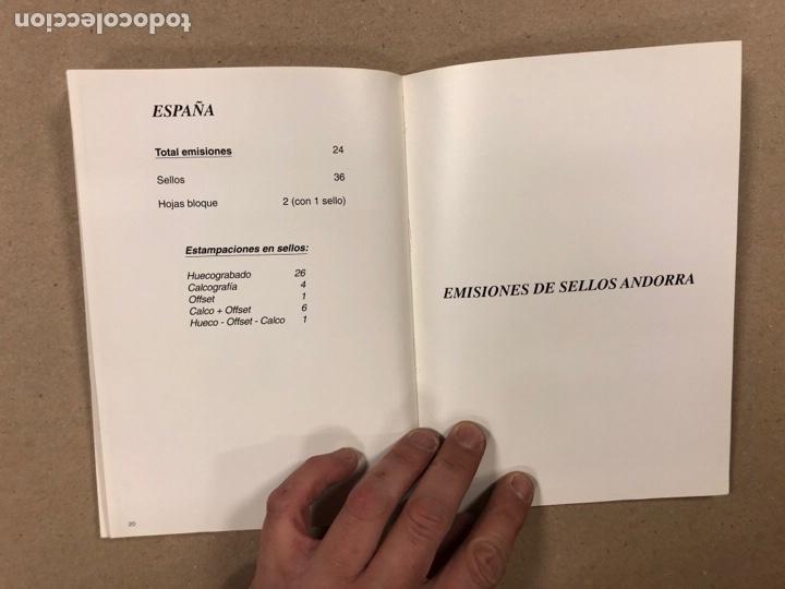 Sellos: EMISIONES DE SELLOS CORREOS Y TELÉGRAFOS ESPAÑA ANDORRA 1993. COMPLETO. - Foto 12 - 263577790