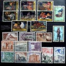 Sellos: SELLOS ESPAÑA - FOTO 629 - LOTE 433 - SERIES COMPLETAS , USADO. Lote 264198748