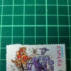 Selos: DULCINEA DEL TOBOSO EDIFIL 3573 USADO ESCENAS QUIJOTE EPISTOLAR 1998 ESPAÑA. Lote 264760139