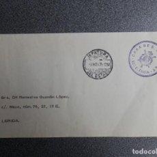 Sellos: SOBRE CON FRANQUICIA CASA DE S. M. EL REY AÑO 1976 JEFATURA DEL ESTADO. Lote 264770504