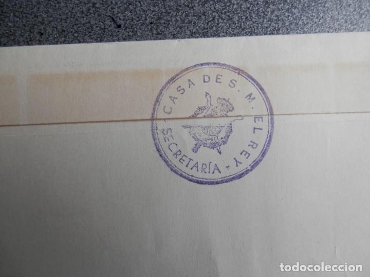 Sellos: SOBRE CON FRANQUICIA CASA DE S. M. EL REY AÑO 1976 JEFATURA DEL ESTADO - Foto 3 - 264770504