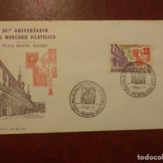 Francobolli: AÑO 1977 CARTA ANIVERSARIO DEL MERCADO FILATELICO EDIFIL 2415. Lote 264840544