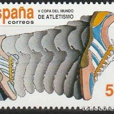 Sellos: 1989.- V COPA DEL MUNDO DE ATLETISMO.. Lote 265329874