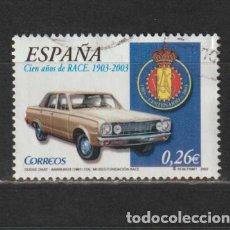 Selos: ESPAÑA. Nº 3996A. AÑO 2003. REAL AUTOMÓVIL CLUB DE ESPAÑA. USADO.. Lote 265783674