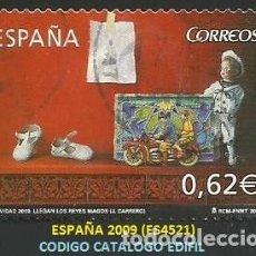 Selos: ESPAÑA 2009 - ES 4521 - TEMA REYES MAGOS (VER IMAGEN) - 1 SELLO USADO. Lote 266321058