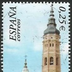 Selos: ESPAÑA 2002 - ES 3937 - SANTA MARIA DE CALATAYUD (VER IMAGEN) - 1 SELLO USADO. Lote 266321223