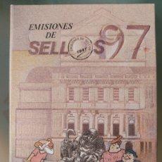 Sellos: EMISIÓN DE SELLOS ESPAÑA Y ANDORRA 1997 LIBRO ÁLBUM. Lote 267184814