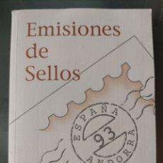 Sellos: EMISIÓN DE SELLOS ESPAÑA Y ANDORRA 1993 LIBRO ÁLBUM. Lote 267187659