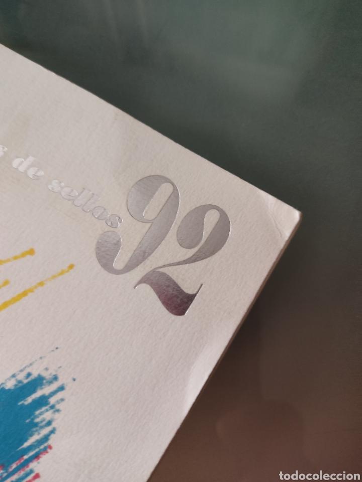 Sellos: Emisión de sellos España y Andorra 1992 libro álbum - Foto 2 - 267188254