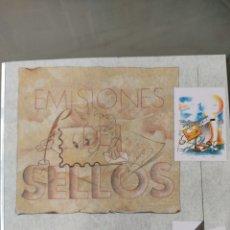 Sellos: EMISIÓN SELLOS ESPAÑA Y ANDORRA 1999 LIBRO ÁLBUM. Lote 267192259