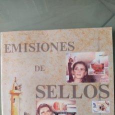 Sellos: EMISIÓN SELLOS ESPAÑA Y ANDORRA 2000 LIBRO ÁLBUM. Lote 267193229