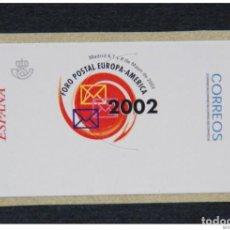Sellos: ESPAÑA.AÑO 2002.// FORO POSTAL EUROPA-AMÉRICA NUEVA Y LIMPIA.. Lote 267234339