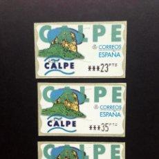 Sellos: ESPAÑA.AÑO 1999.ETIQUETA POSTAL CALPE (SERIE COMPLETA).. Lote 267235799