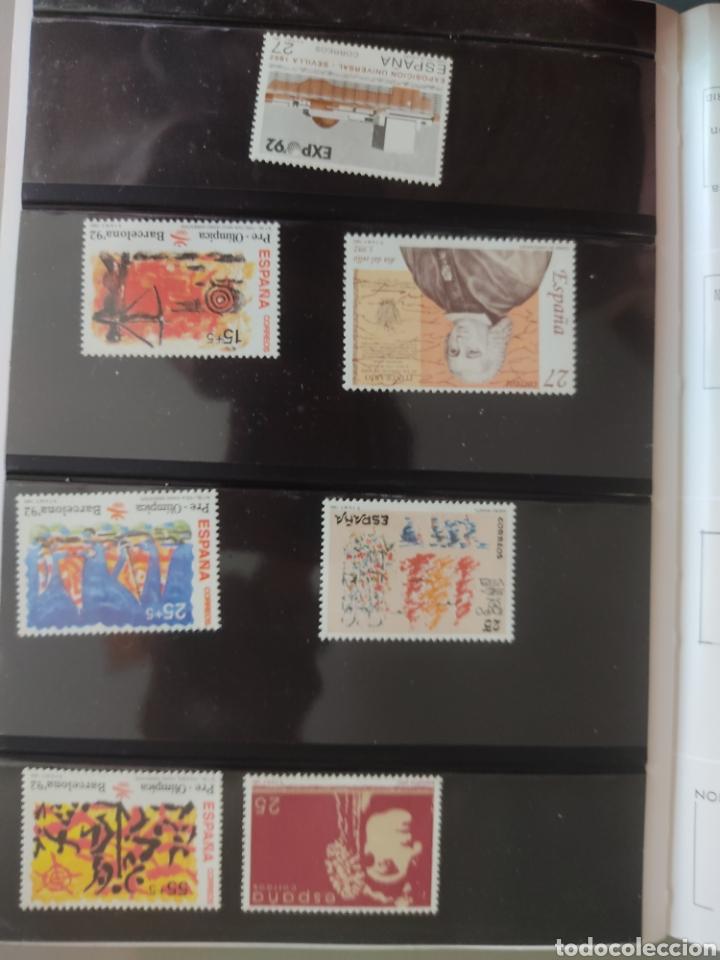 Sellos: Emisión de sellos España y Andorra 1992 libro álbum - Foto 4 - 267188254