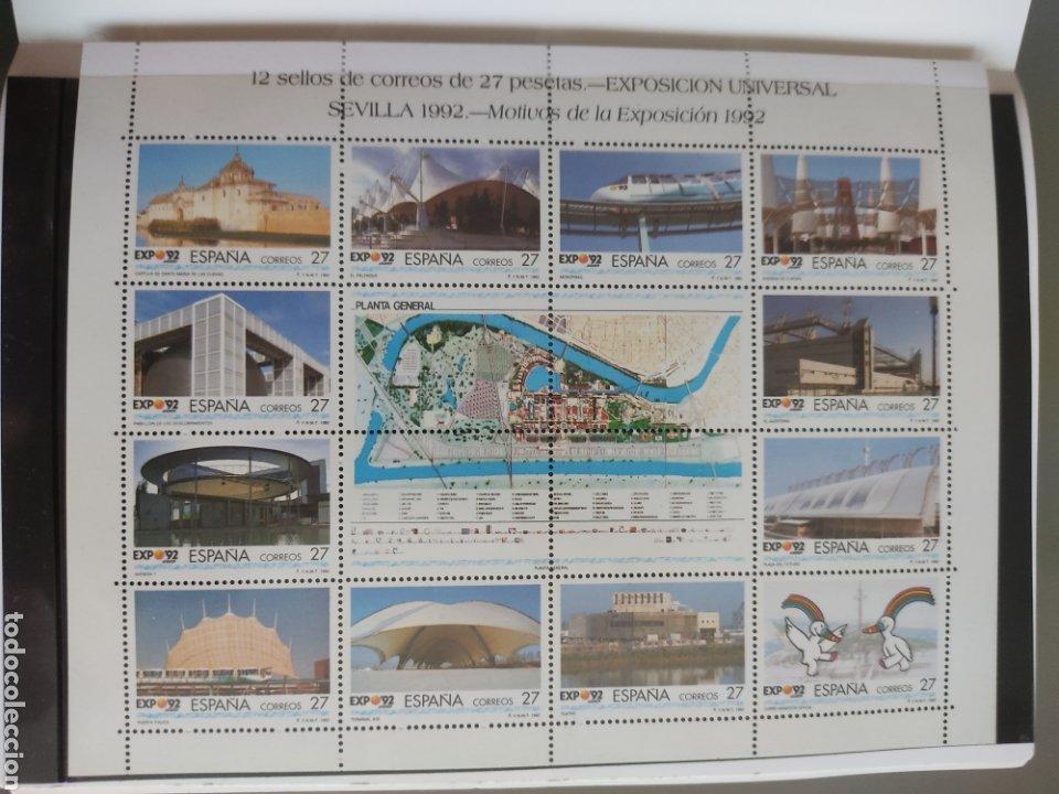 Sellos: Emisión de sellos España y Andorra 1992 libro álbum - Foto 8 - 267188254