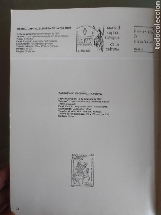 Sellos: Emisión de sellos España y Andorra 1992 libro álbum - Foto 14 - 267188254